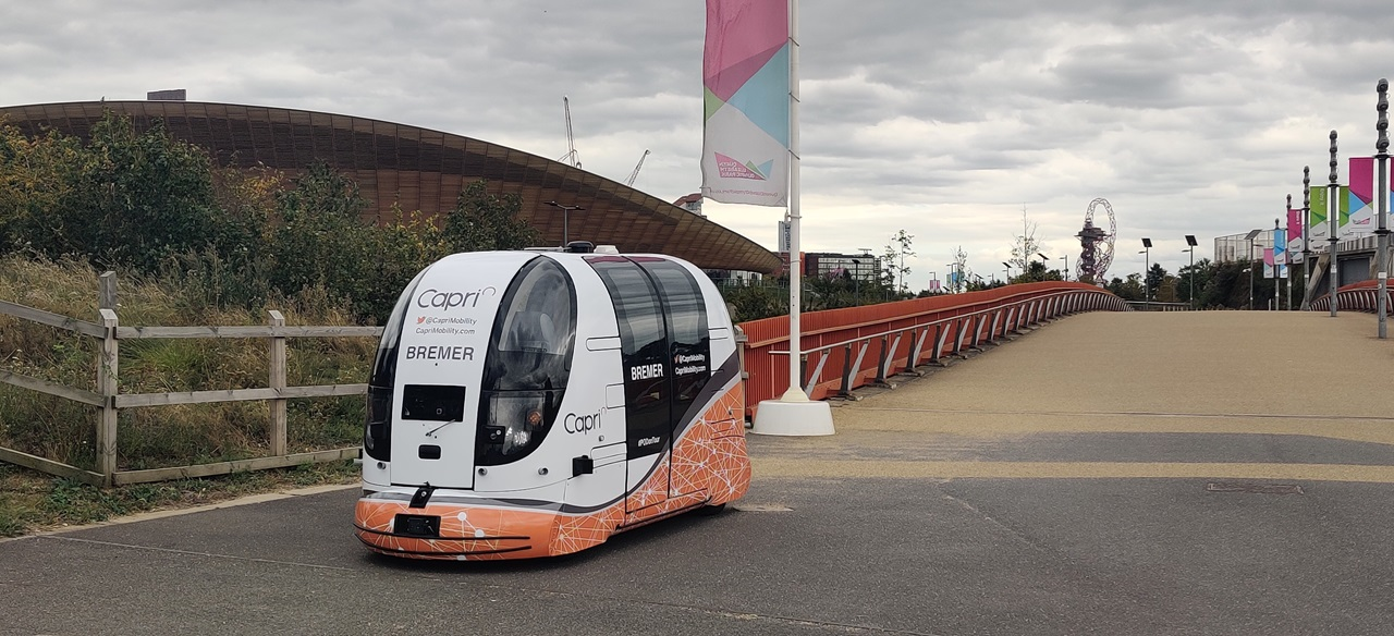 Public to trial driverless pods at Queen Elizabeth Olympic Park