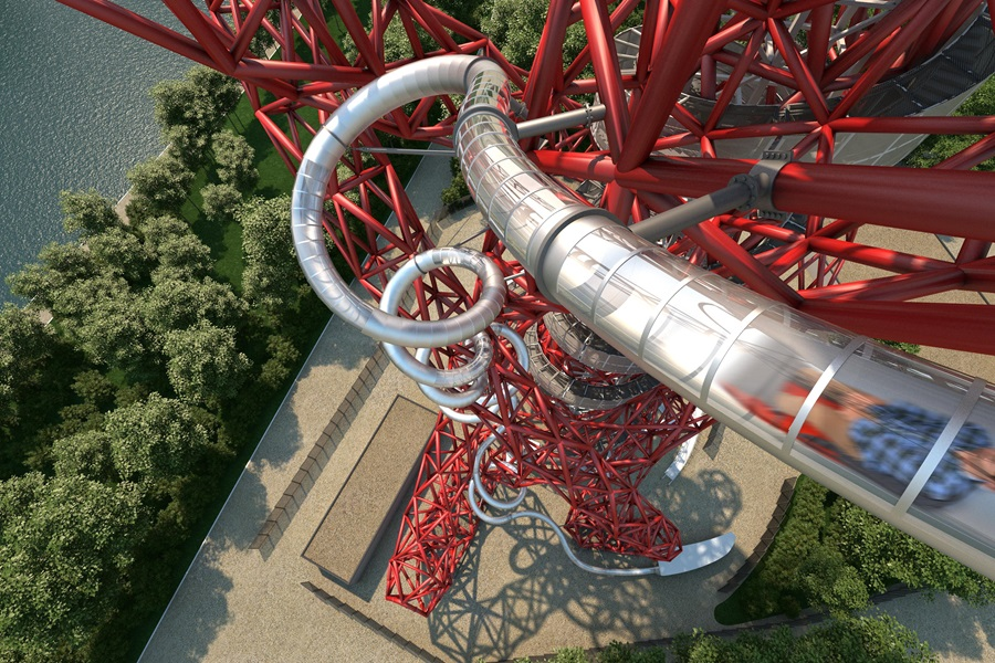 RIDE THE SLIDE AT THE ARCELORMITTAL ORBIT