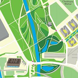 Park Map  Queen Elizabeth Olympic Park