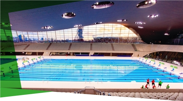 London aquatics centre thy equilibrium for How much is an olympic swimming pool
